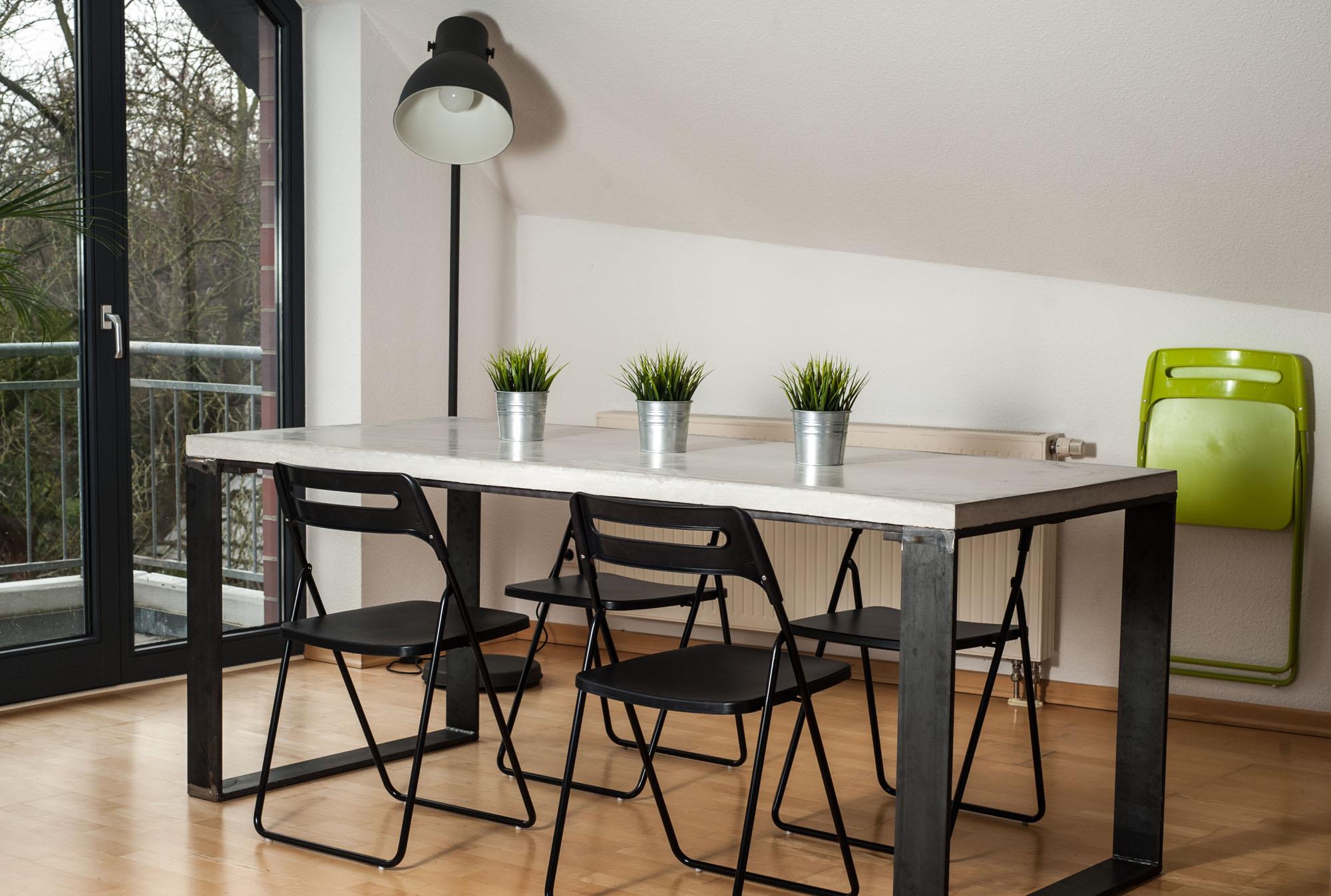 Einzigartig Beton Tisch Selber Machen Ideen