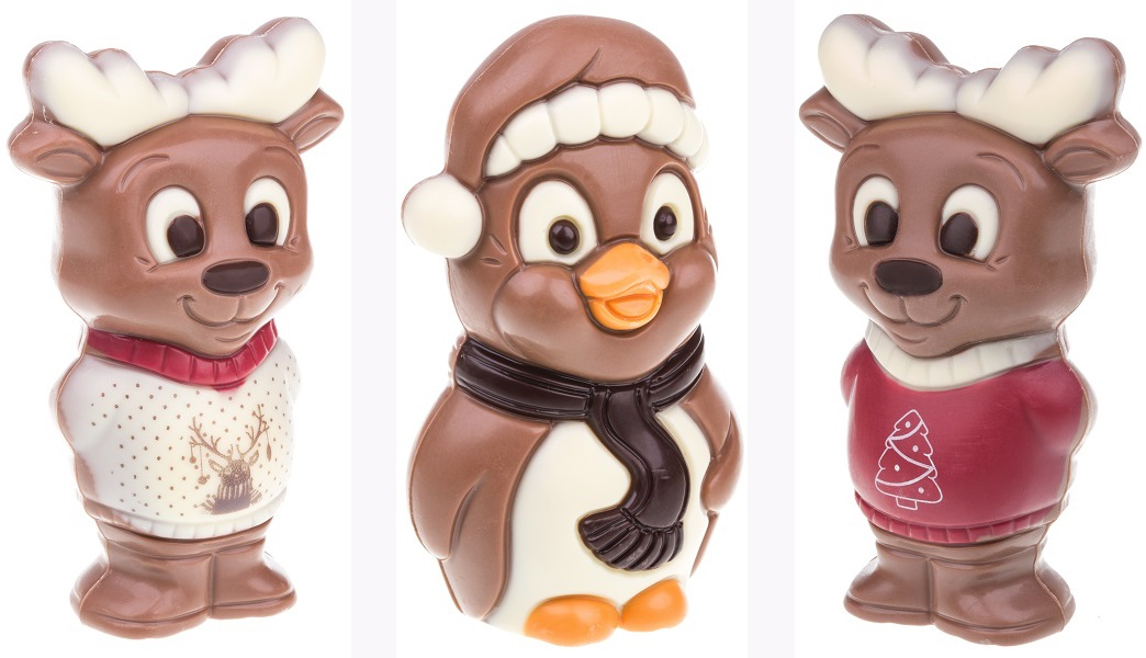 ChocoFiguren von CHOCOLISSIMO - Weihnachtsgeschenke