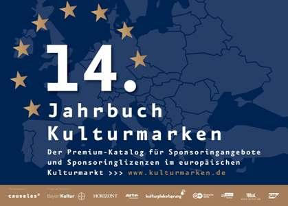 """Causales_Jahrbuch-Kulturmarken_klein Der Causales-Premium-Katalog für Kultursponsoring """"Jahrbuch Kulturmarken 2019"""" erscheint im September"""