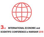 """III-LOGO-2018-50 """"III. Internationale Konferenz für Wirtschaft und Wissenschaft in Warschau"""