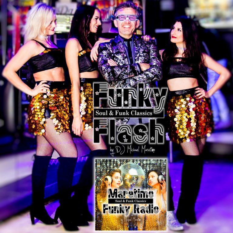 Hot ! … ,Maretimo Funky Radio' startet mit Live Act *Funky Flash* eine einzigartige Marketing Kooperation !