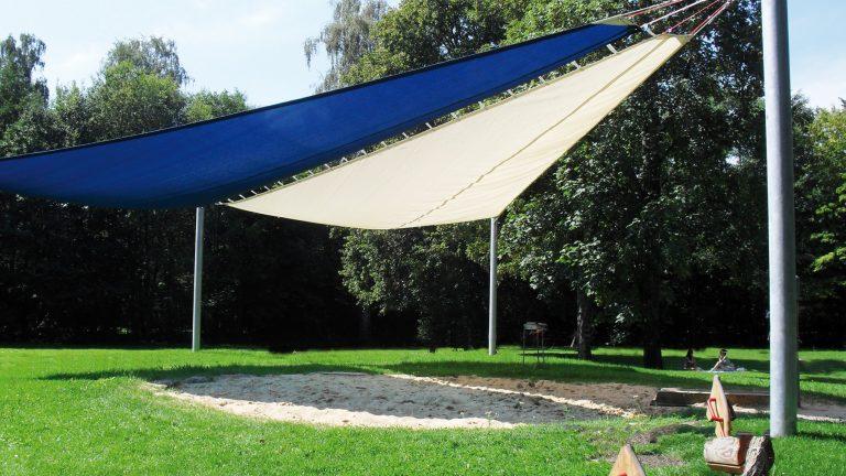 Der Sonnenschutz von HUCK Seiltechnik