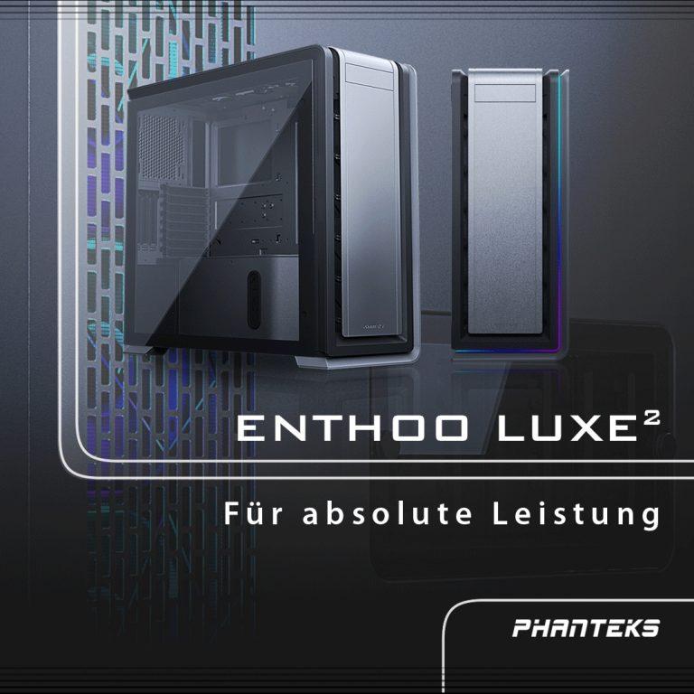 JETZT bei Caseking – PHANTEKS Enthoo Luxe 2: Der Big-Tower für Enthusiasten!