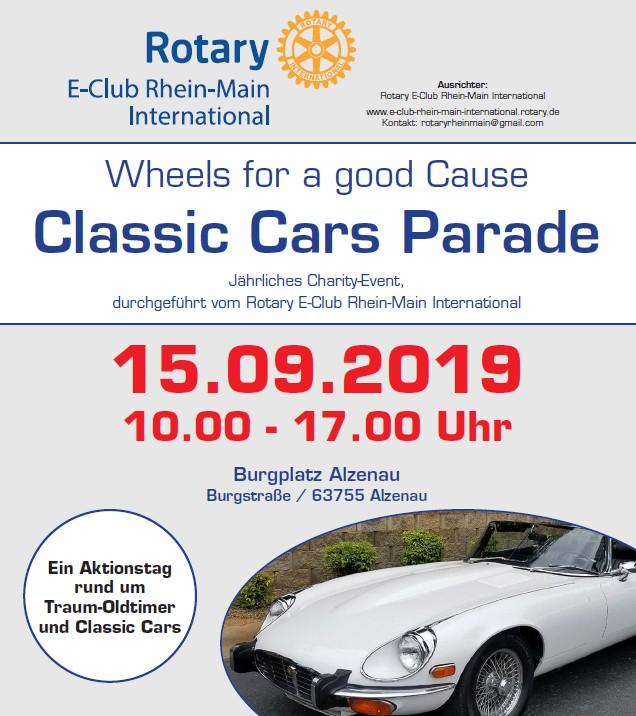 Classic Car Parade  – Alzenau 15. September 2019