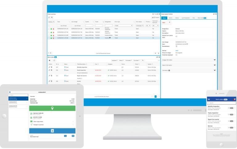 meteocontrol adds VCOM CMMS to the PV monitoring portal