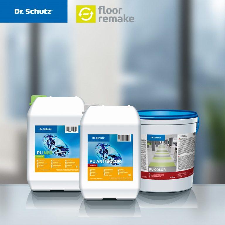 Dr. Schutz floor remake System unter den Finalisten des M&K Award 2020