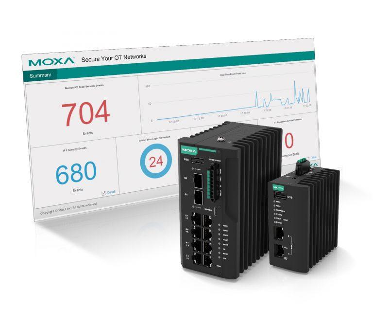 Moxa stellt Lösung für die industrielle Netzwerksicherheit vor