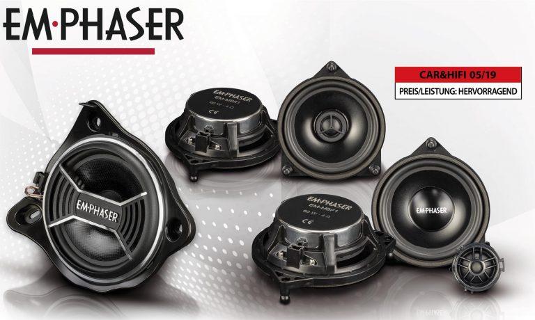 Install and Enjoy: EMPHASER speaker for Mercedes