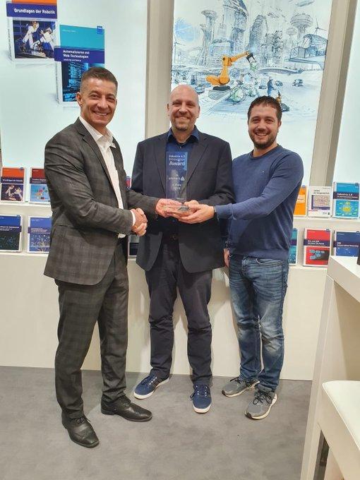 Pickert erreicht 3. Platz beim Industrie 4.0 Innovation Award