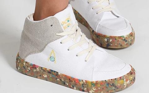 Mit diesen Sneakern schonen Sie die Umwelt mit jedem Schritt