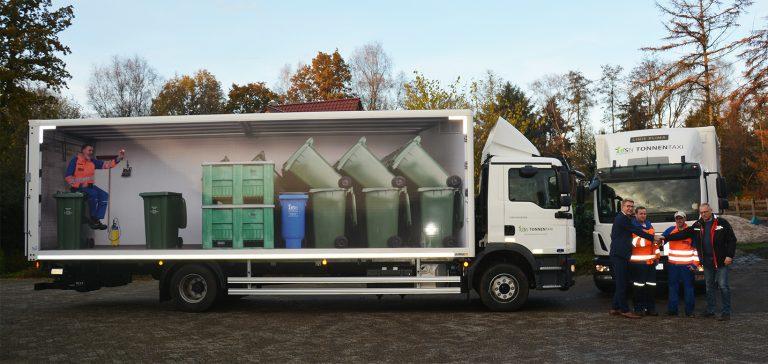 Entsorgungswirtschaft: BioService Nord setzt neue Fraikin-Spezialfahrzeuge ein
