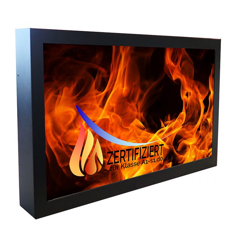 Highest fire protection class for BLO-Line monitors