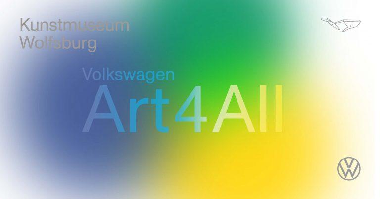 Kunstmuseum Wolfsburg: Volkswagen Art4All ab Mittwoch, 29.1.2020