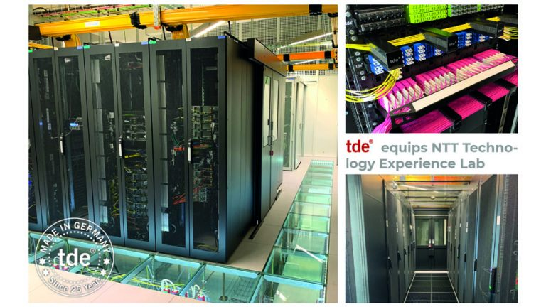 tde equips NTT Technology Experience Lab with tML-24 and tML-32 cabling systems